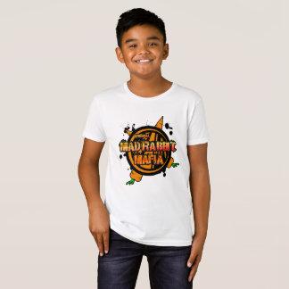 la camiseta orgánica de los niños enojados del