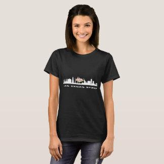 La camiseta oscura de las mujeres del CUMPLEAÑOS