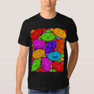 La camiseta oscura de los hombres de Jellemote