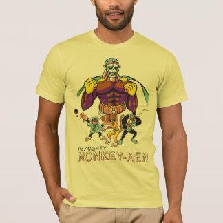 La camiseta poderosa de los Mono-Hombres
