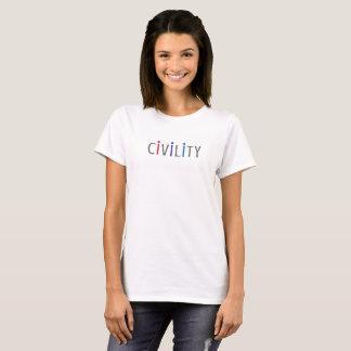 La camiseta positiva de las mujeres para los