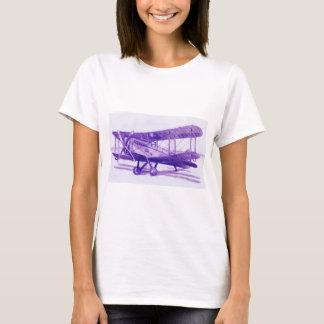 La camiseta simple de las mujeres con el dibujo