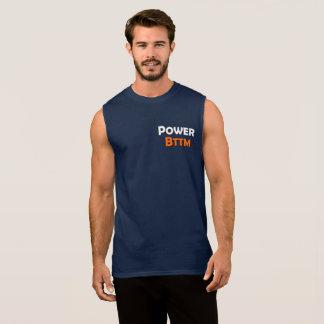 La camiseta sin mangas inferior de los hombres gay