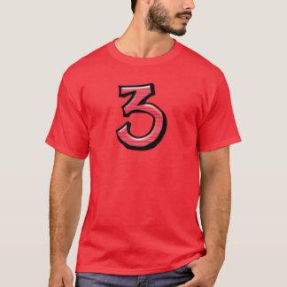 La camiseta tonta de los hombres rojos de los