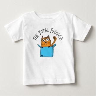 La camiseta total del bebé del paquete