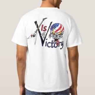 ¡La camiseta V del valor de la guitarra de USAMG V
