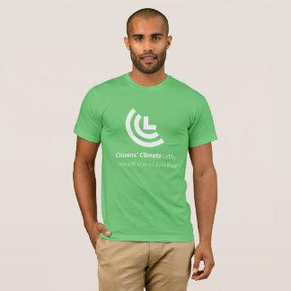La camiseta verde de los hombres de la voluntad