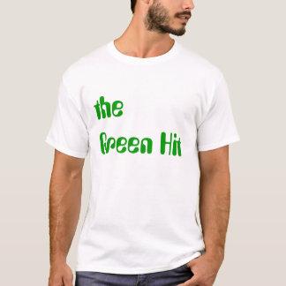 la camiseta verde del golpe
