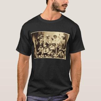 La camiseta vieja de la tropa de exploradores