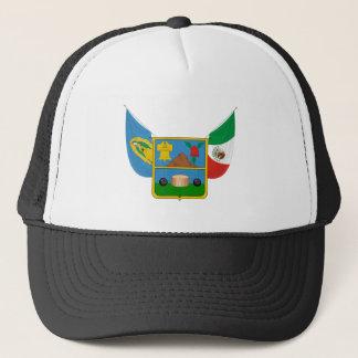 La capa arma símbolo oficial de la heráldica de gorra de camionero