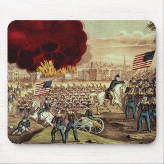 La captura de Atlanta del Ejército de la Unión Alfombrilla De Ratón