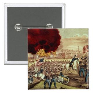 La captura de Atlanta del Ejército de la Unión Chapa Cuadrada