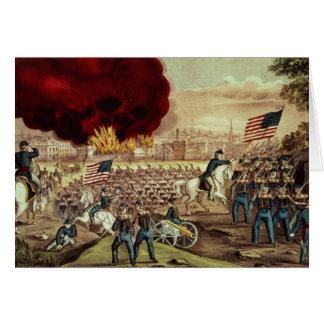 La captura de Atlanta del Ejército de la Unión Tarjeta De Felicitación