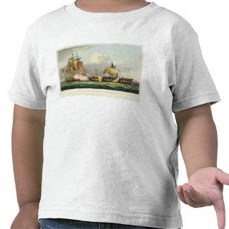 La captura de la venganza del La, el 21 de agosto  Camisetas