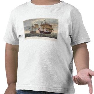 La captura del Chesapeake, el 1 de junio de 1813,  Camisetas