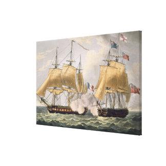 La captura del La Clorinde, el 26 de febrero de 18 Lona Envuelta Para Galerias
