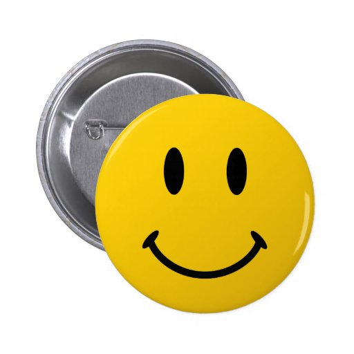 La cara sonriente original pin