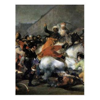 La carga del Mamelukes de Francisco Goya Postal