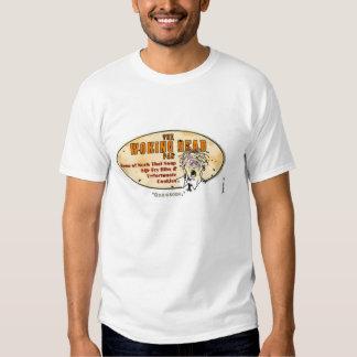 La caricatura muerta de la diversión de Woking, Camisetas