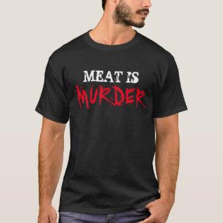La CARNE vegetariana de la camisa del vegano ES