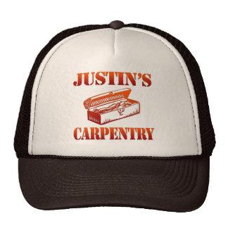 La carpintería de Justin Gorras De Camionero