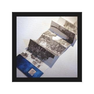 La carta blanca vierte 1 combate de Course Print Impresion De Lienzo