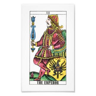 La carta de tarot del emperador foto