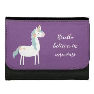 La cartera de cuero del unicornio, cree en