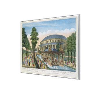 La casa china, el de la Rotonda y la compañía aden Lienzo Envuelto Para Galerias