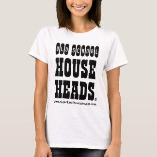 La casa de la escuela vieja dirige a señora Strap Camiseta