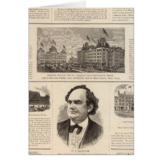 La casa de Sturtevant, Nueva York Felicitación