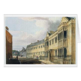 """La casa del primer amo, escuela de grada, de la """"h felicitación"""