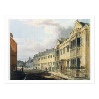 """La casa del primer amo, escuela de grada, de la """"h tarjeta postal"""
