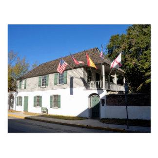 la casa más vieja St Augustine la Florida Postal