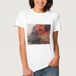 La casa roja de Claude Monet Camiseta