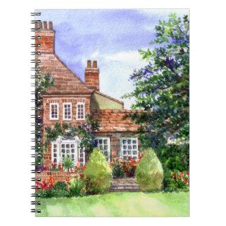 La casa señorial, Heslington, York Cuaderno