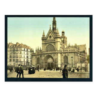 La catedral, cerca del ferrocarril del este, Pari Postal