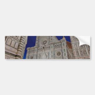 La catedral de Santa María del Fiore Pegatina Para Coche