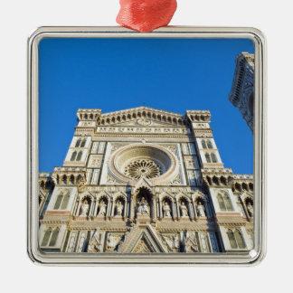 La catedral Santa María del Fiore, Firenze, Adorno Navideño Cuadrado De Metal