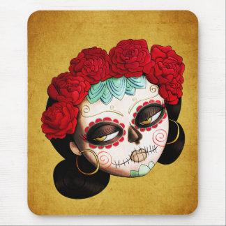 La Catrina - Dia de Los Muertos Girl Alfombrilla De Ratón