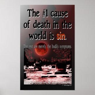 La causa 1 de la muerte es luna del pecado w Bloo Impresiones