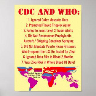 la CDC y el WHO de 7 maneras nos fallaron por Póster