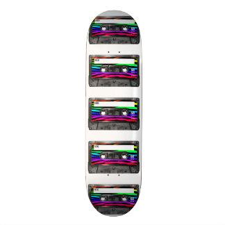 La cebra del arco iris raya el casete monopatines personalizados