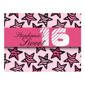 La cebra rosada protagoniza el dulce postal de 16