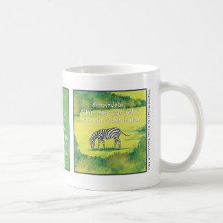 La Cebra, taza de café