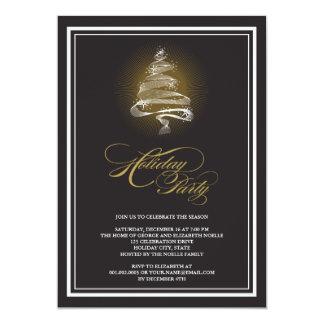 La celebración de días festivos del árbol de invitación 12,7 x 17,8 cm