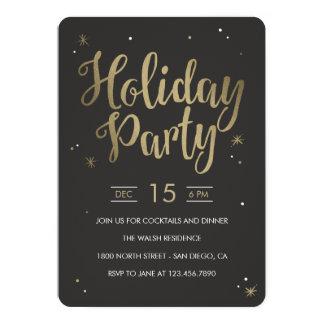 La celebración de días festivos Editable del color Invitación 12,7 X 17,8 Cm