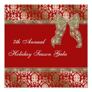 La celebración de días festivos elegante del invitación 13,3 cm x 13,3cm