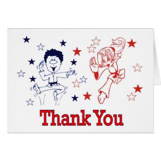 La celebración de los artes marciales le agradece tarjeta de felicitación