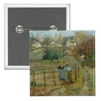 La cerca, 1872 (aceite en lona) pins